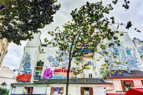 Luther Smith, Place Sant-André des Arts, Paris, France, October 2, 2017