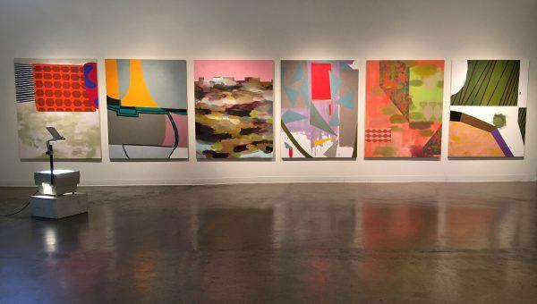 Texas Artist Ludwig Schwarz Dallas Museum of Art paintings from Conduit Gallery