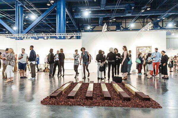Texas Contemporary Art Fair Installation