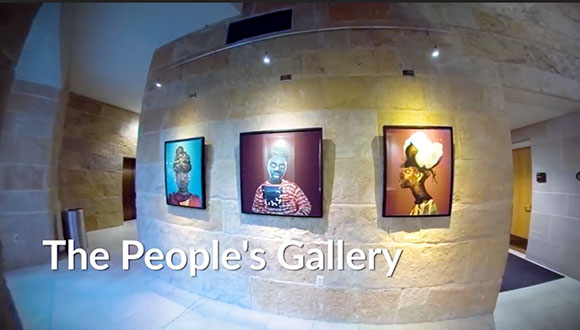 The People's Gallery in Austin, Texas