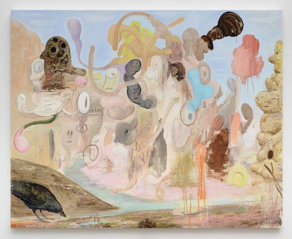 Victor Estrada, Big Rock Candy Mountain,2017Oil on canvas over panel