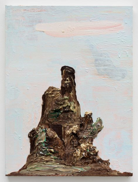Victor Estrada's Pink Cloud / Chocolate Mountain / Blue Sky with Shadow, 2017
