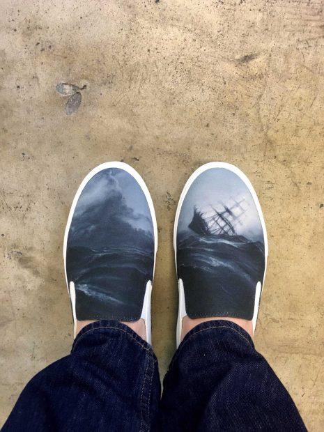 Vincent Valdez Painting Shoes Til Then