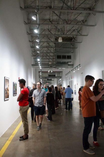 at FotoFest Hurricane Harvey Show