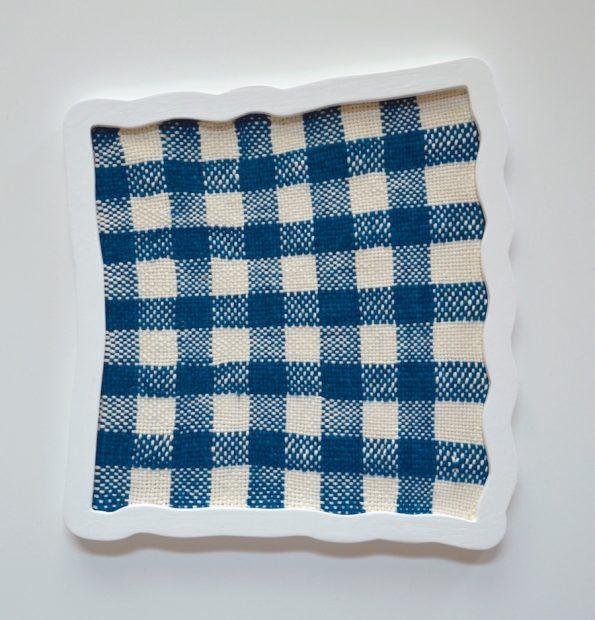 Ana Esteve Llorens, Untitled ( Big Squares Blue ), 2018