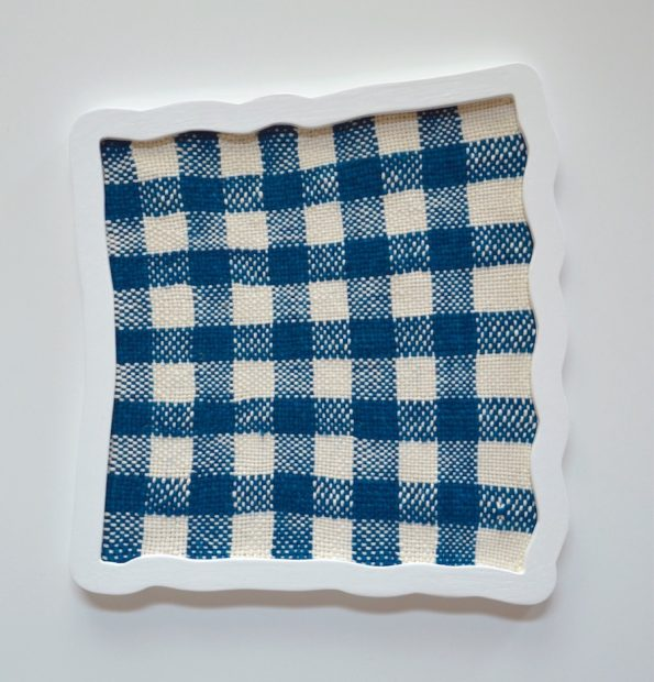 Ana Esteve Llorens, Untitled ( Big Squares Blue ), 2018