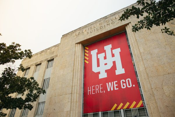 Here we go banner at UH