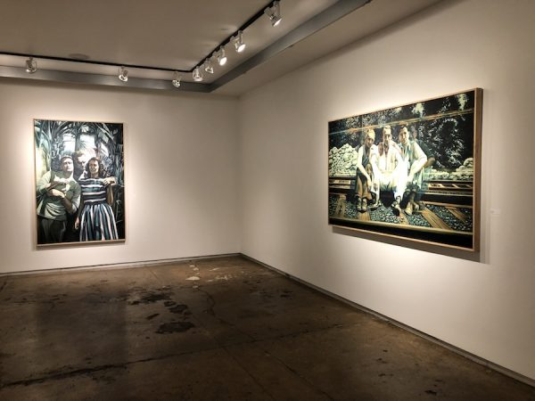 Installation shot of Nowlin's exhibition at ArtSpace111