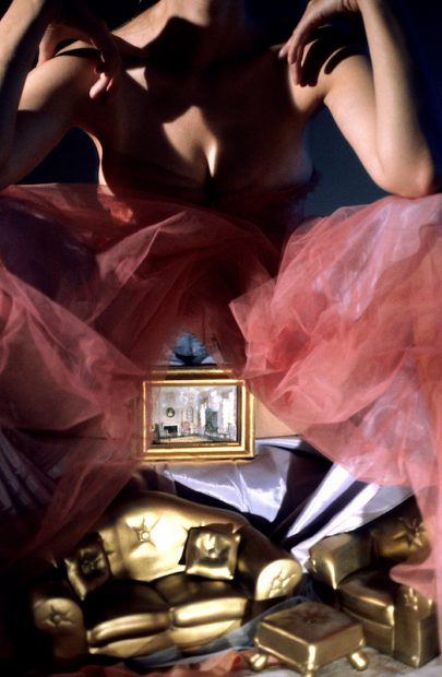 Laurie Simmons Room Underneath (Gold), 1998