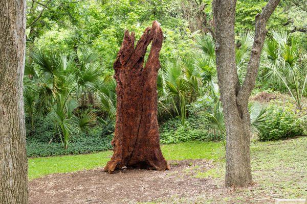 Ai Wei Wei Iron Tree Trunk Laguna Glora Contemporary Austin Texas
