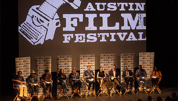 Austin Film Festival panel discussion in Austin Texas