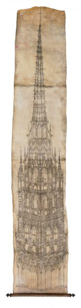 Design for the Rouen Cathedral Tower MFAH