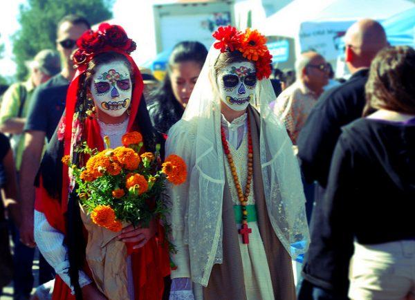 Dia De Los Muertos festival celebration in Texas