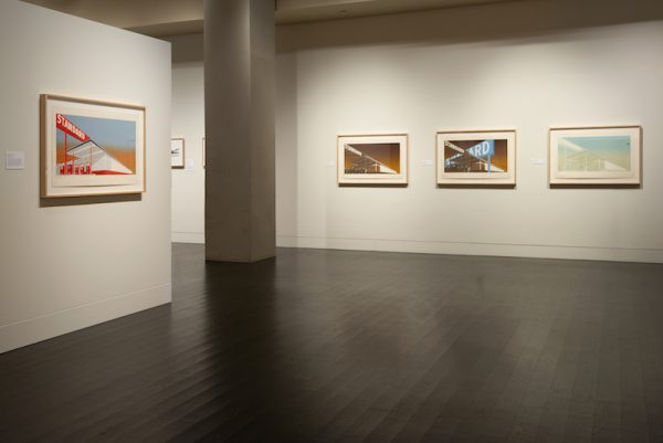 "The exhibition ""Ed Ruscha: Archaeology and Romance"" at the Harry Ransom Center."