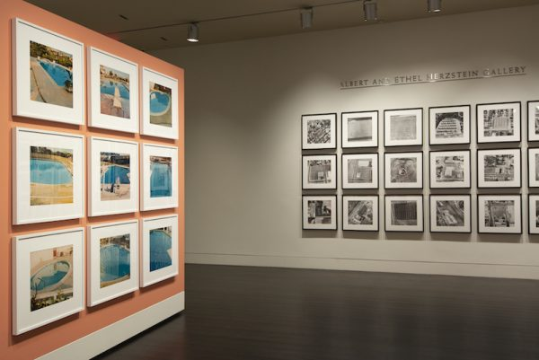 "The exhibition ""Ed Ruscha: Archaeology and Romance"" at the Harry Ransom Center. Photos by Derek Rankins. Courtesy Harry Ransom Center."