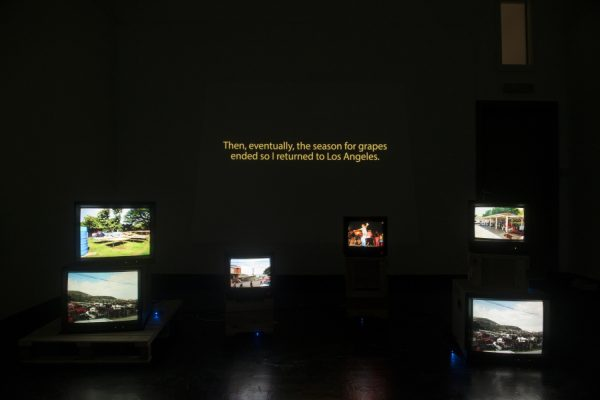 Francis Almendarez video at Houston Center for Photography
