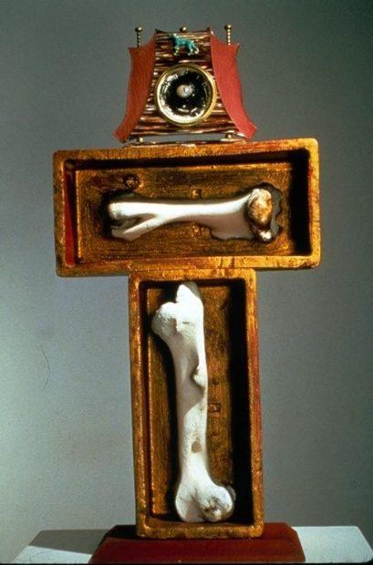 Houston Texas artist Bert Long sculpture