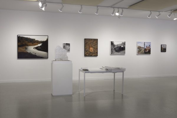 Installation view, Morgan Ashcom's What the Living Carry at HCP