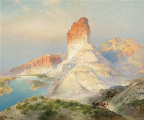 Thomas Moran, Green River, Wyoming, 1913