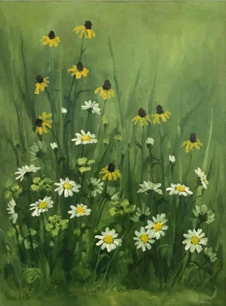 Painting by Houston artist Henri Gadbois