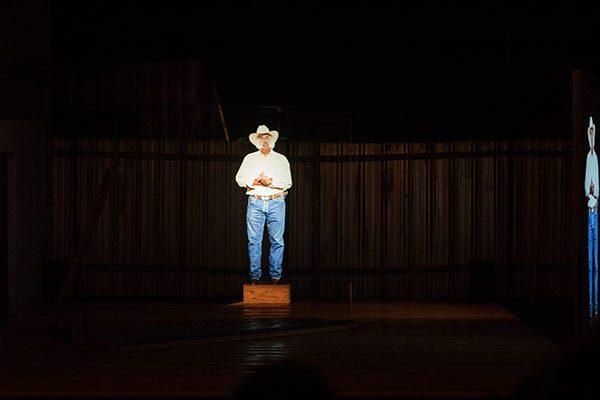 Richard Maxwell Ads at the Chinati Foundation in Marfa Texas