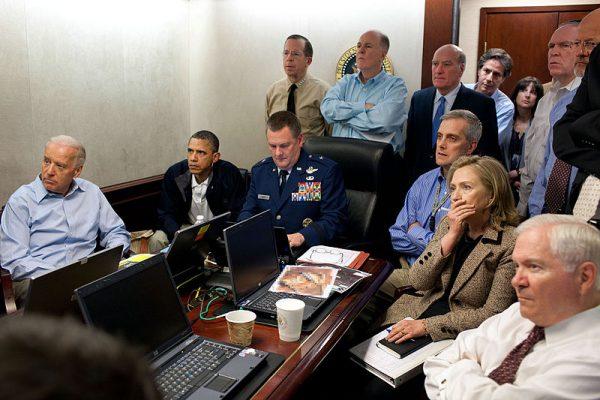 Situation Room Photograph Pete Souza Obama