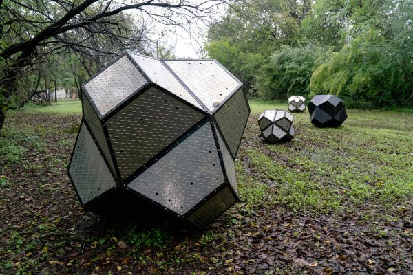 Sweet Pass Sculpture Park public art in Dallas Texas Buster Graybill