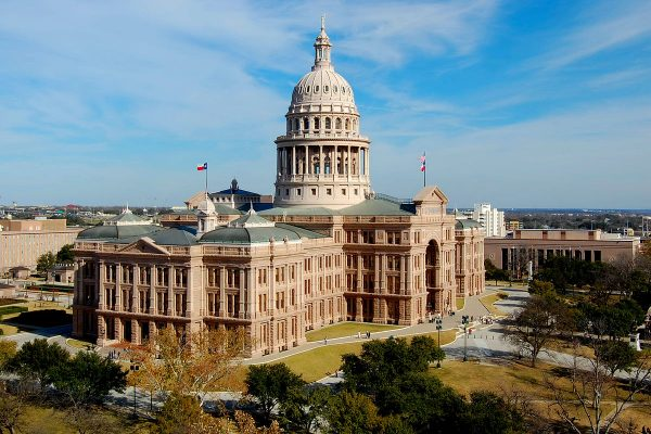 Texas State Capitol Building in Austin Texas