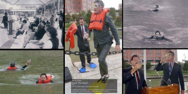 The Art Guys Houston Drink Buffalo Bayou Clean Water Act