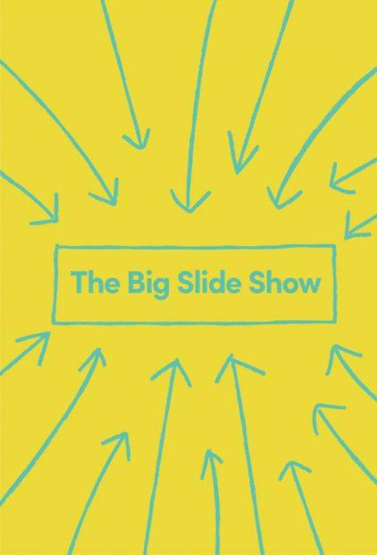The Big Slide Show at Lawndale Art Center in Houston