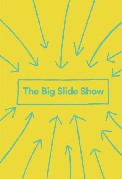 The Big Slide Show at Lawndale Art Center in Houston