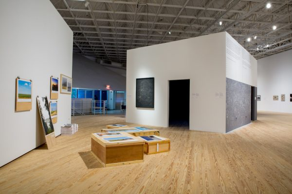 installation shot of Walls Turned Sideways at CAMH