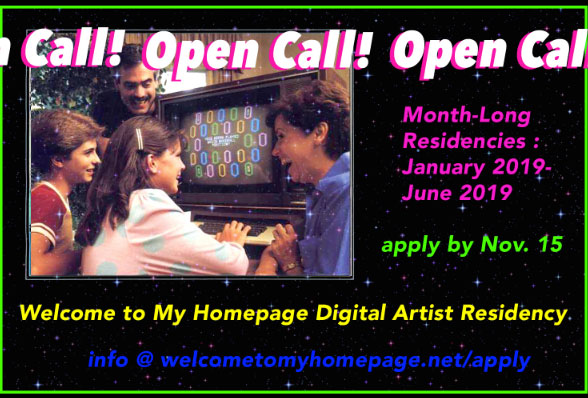 Welcome to my Homepage digital artist residency Program Austin Texas