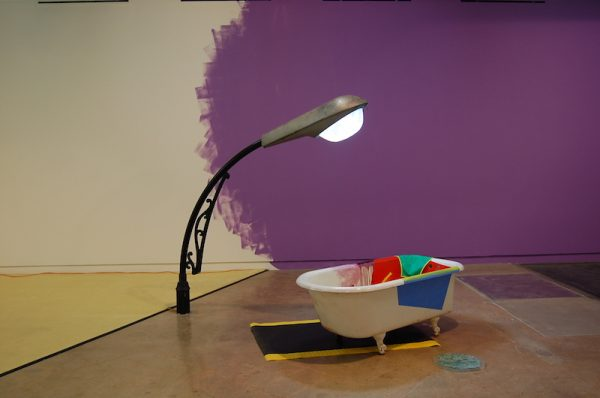 Installation view: Jessica Stockholder at The Contemporary Austin at the Jones Center