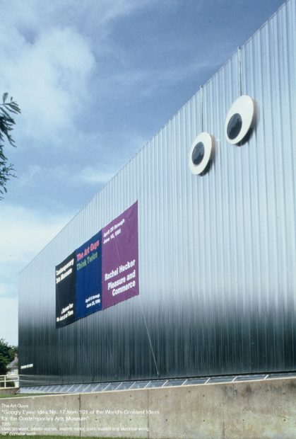 the art guys Giant_googly eyes camh museum