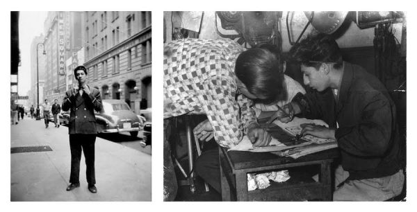 Teenage Pablo Ferro in 1950s New York City.