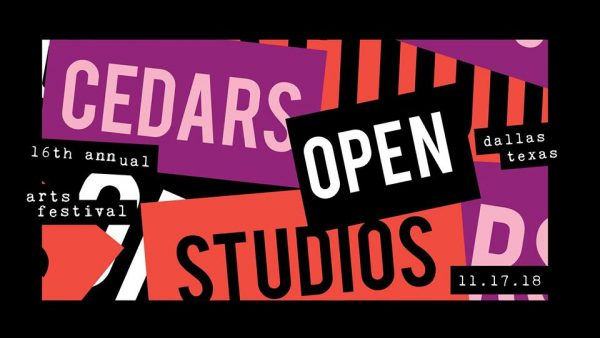 16th annual Cedars Open Studios in Dallas Texas