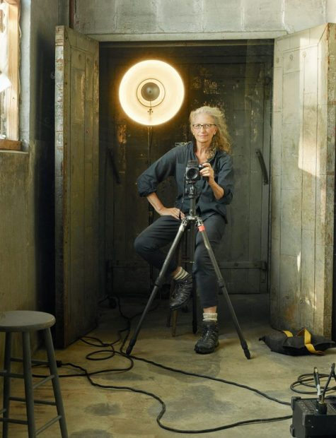 American photographer portrait Annie Leibovitz