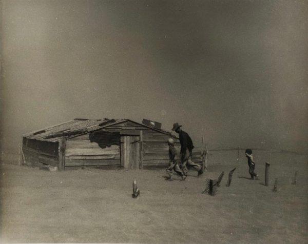 Arthur Rothstein photograph San Antonio Museum of Art Collection Gift