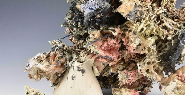 Austin artist Tammie Rubin- Everything You Ever ceramc work at Women and their Work art gallery