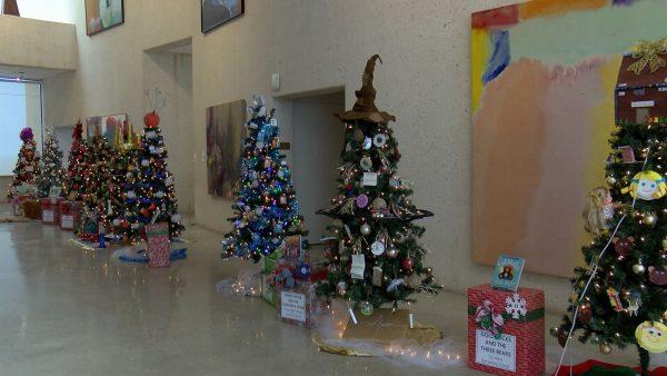 Christmas Tree Forest Art Museum of South Texas Corpus Christi