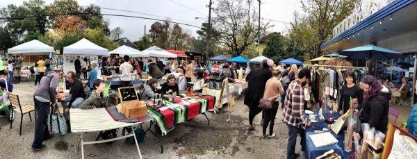 Craftidote holiday art market in houston Texas