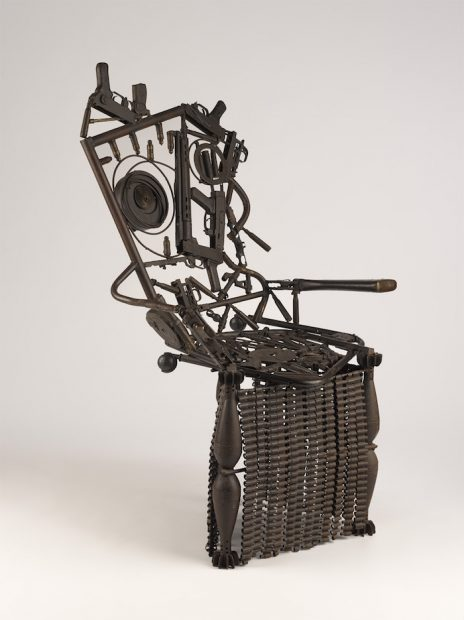 Gonçalo Mabunda's Harmony Chair, from Making Africa's website
