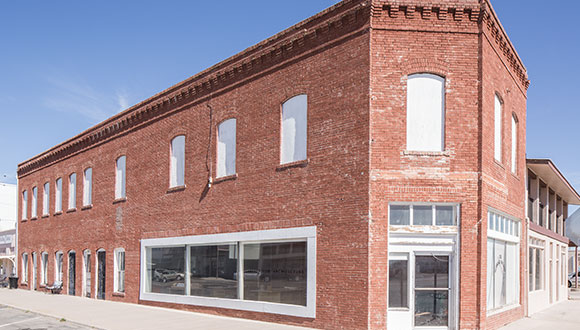 Judd Foundation Architecture Building in Marfa Texas