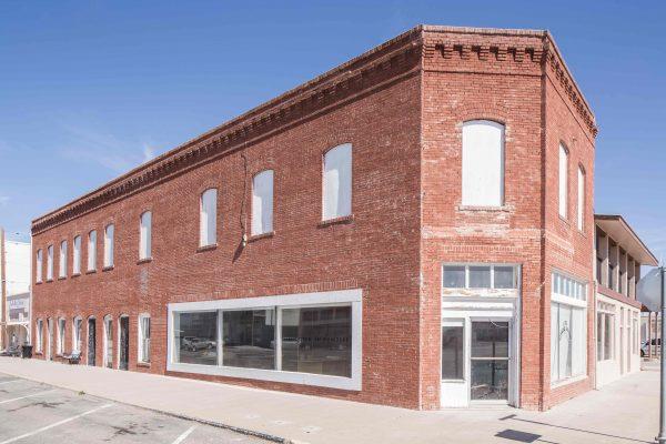 Judd Foundation Architecture Building in Marfa Texas