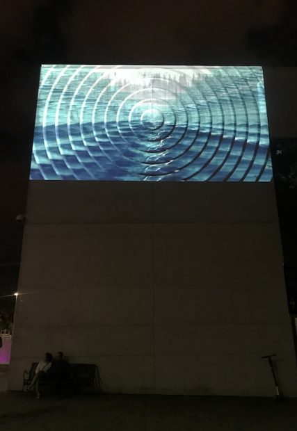 Kristin Lucas, Sick Waves, Moving Image Installation, 2015