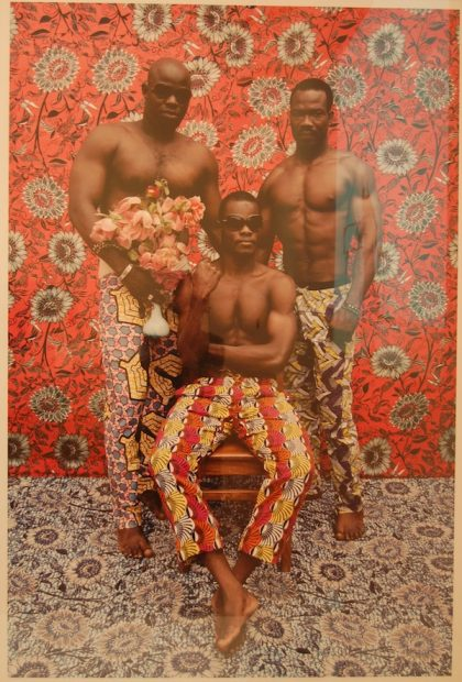 Leonce Raphael Agbodjelou. Untitled (Musclemen), 2012