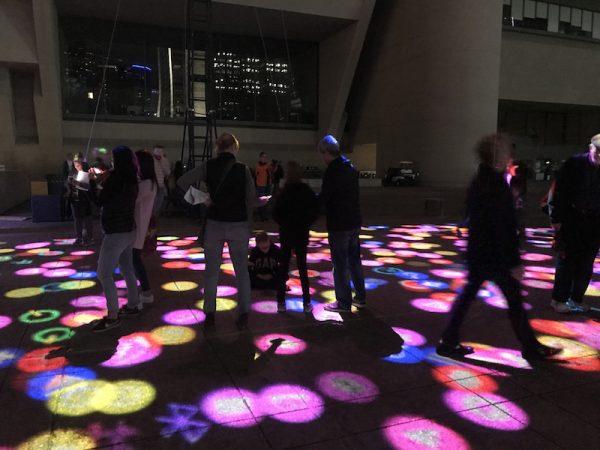 Miguel Chevalier, Digital Icons, virtual-reality installation, 2018