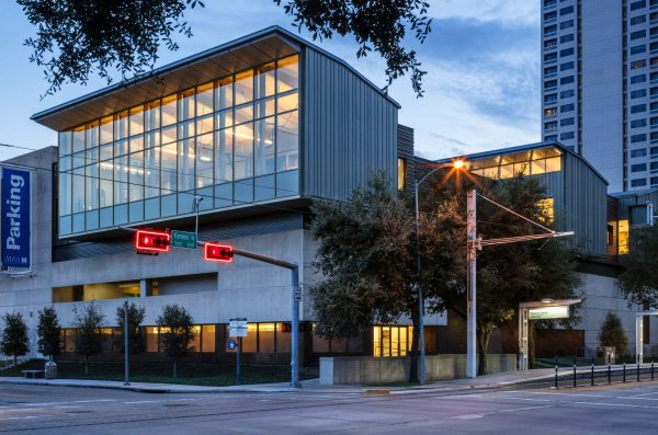 Museum of Fine arts Houston new Center for Conservation Facade