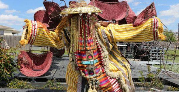 Olaniyi Akindiya (Akirash)- Ara Oru Kinkin (Masquerades Mythology) Lawndale Art Center Houston Texas
